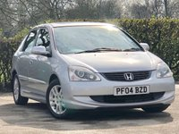 2004 HONDA CIVIC 1.6 EXECUTIVE I-VTEC 5d AUTO 110 BHP £2595.00