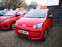 USED 2015 64 VOLKSWAGEN UP 1.0 TAKE UP 3d 59 BHP +FULL DEALER SERVICE HISTORY+