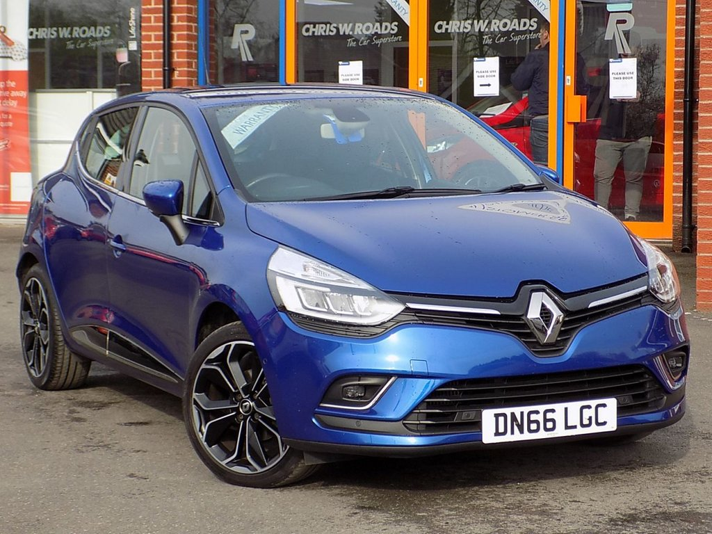 USED 2016 66 RENAULT CLIO 1.2 TCE Dynamique S Nav 5dr ** Sat Nav + Techno Pack **