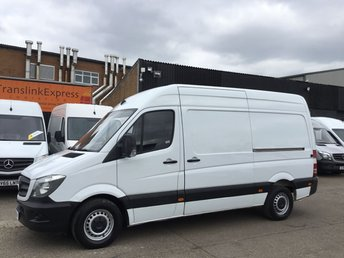 2015 MERCEDES-BENZ SPRINTER 2.1 313CDI MWB HIGH ROOF 130BHP. LOW 79K F/S/H. FINANCE.PX £9990.00