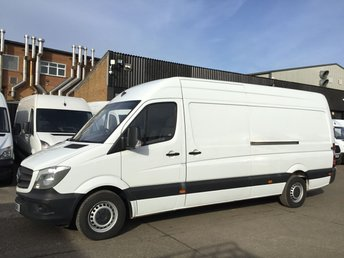 2015 MERCEDES-BENZ SPRINTER 2.1 313CDI LWB HIGH ROOF 130BHP. AIRCON. LOW 55K. F/S/H. PX £12990.00