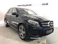 USED 2016 66 MERCEDES-BENZ GLE-CLASS 3.0 GLE 350 D 4MATIC AMG LINE 5d AUTO 255 BHP