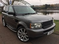 USED 2005 55 LAND ROVER RANGE ROVER SPORT 2.7 TDV6 S 5d 188 BHP **SIDE STEPS, PRIVACY**
