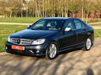 USED 2008 08 MERCEDES-BENZ C-CLASS 3.0 C320 CDI AMG SPORT AUTO 222 BHP 4 DR SALOON SAT NAV+ LEATHER+ FSH+