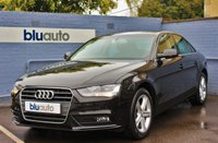 USED 2013 13 AUDI A4 2.0 TDI SE TECHNIK 4d AUTO 141 BHP Full Audi Service History, Satellite Navigation, Leather Seats, Cruise Control, Voice Command