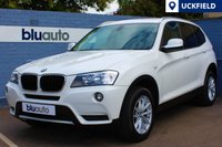 USED 2012 12 BMW X3 2.0 XDRIVE20D SE 5d AUTO 181 BHP Alpine White BMW X3 with £2500 Extras which include; Full Nevada Dark Leather Interior, Professional Navigation, Automatic Transmission, Bluetooth, USB & BMW Assist!