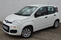 USED 2017 67 FIAT PANDA 1.2 POP 5d WHITE 69 BHP FIAT WARRANTY TILL SEPTEMBER 2020 ONE OWNER CAR ONLY 6,883 MILES