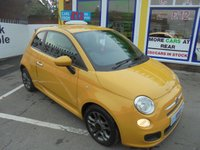 USED 2015 15 FIAT 500 1.2 S 3d 69 BHP **BUY NOW PAY NEXT YEAR**