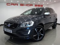 2015 VOLVO XC60 2.4 D5 (212 BHP) R-DESIGN LUX NAV AWD AUTO..VERY HIGH SPEC !!  £16490.00