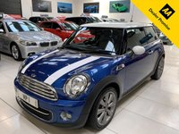 USED 2012 12 MINI HATCH COOPER 1.6 COOPER LONDON 2012 EDITION 3d 120 BHP CHILI PACK VISUAL BOOST LEATHER