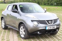 2011 NISSAN JUKE 1.6 ACENTA 5d AUTO 117 BHP £7695.00