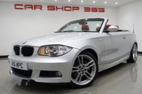 2009 BMW 1 SERIES 2.0 120i (168 BHP) M SPORT 2dr CONVERTIBLE..RED LEATHER SEATS £6750.00