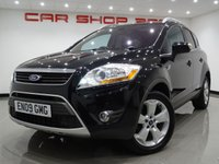 2009 FORD KUGA 2.0 TITANIUM X TDCI (134 BHP)..NAV..LEATHER..PAN ROOF..CAMERA £5990.00