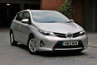 2014 TOYOTA AURIS 1.8 VVT-I ICON 5d AUTO 98 BHP £11500.00