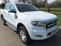 2016 FORD RANGER 2.2 LIMITED 4X4 DCB TDCI 1d AUTO 158 BHP £17700.00