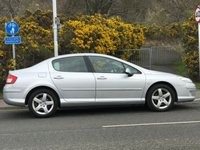 USED 2010 60 PEUGEOT 407 2.0 HDI SPORT 4d AUTO 163 BHP 1 OWNER FROM NEW *  NAVIGATION SYSTEM *   BLUETOOTH *  HALF LEATHER TRIM *  CRUISE CONTROL *