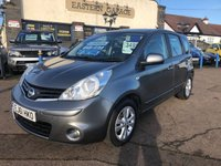 USED 2011 61 NISSAN NOTE 1.5 ACENTA DCI 5d 89 BHP