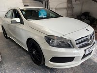 USED 2013 13 MERCEDES-BENZ A-CLASS 1.5 A180 CDI BLUEEFFICIENCY AMG SPORT 5d 109 BHP