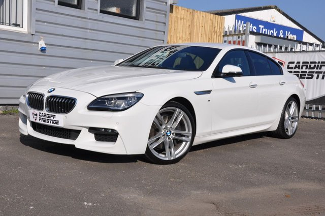2015 15 BMW 6 SERIES 3.0 640D M SPORT GRAN COUPE 4d AUTO 309 BHP