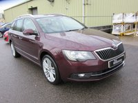 2014 SKODA SUPERB 2.0 ELEGANCE TDI CR 5d 139 BHP ESTATE £12495.00