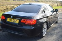 USED 2011 11 BMW 3 SERIES 3.0 325I M SPORT 2d AUTO 215 BHP SATELLITE NAVIGATION, SPORTS LEATHER, ELECTRIC SUNROOF, BLUETOOTH, PRIVACY GLASS