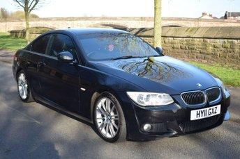 2011 BMW 3 SERIES 3.0 325I M SPORT 2d AUTO 215 BHP £11999.00