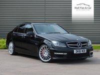 2011 MERCEDES-BENZ C-CLASS 6.2 C63 AMG EDITION 125 4d AUTO 457 BHP £20995.00