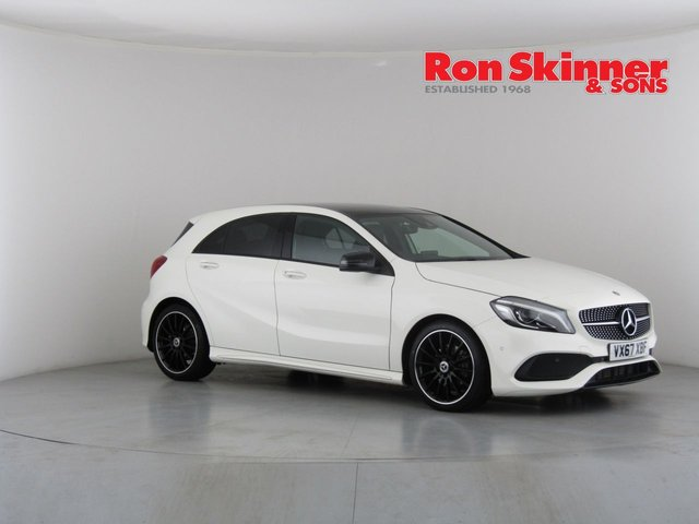 View our 2017 67 MERCEDES-BENZ A-CLASS 1.5 A 180 D AMG LINE PREMIUM PLUS 5d 107 BHP