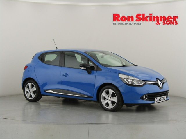 View our 2016 65 RENAULT CLIO 1.5 DYNAMIQUE NAV DCI 5d 89 BHP