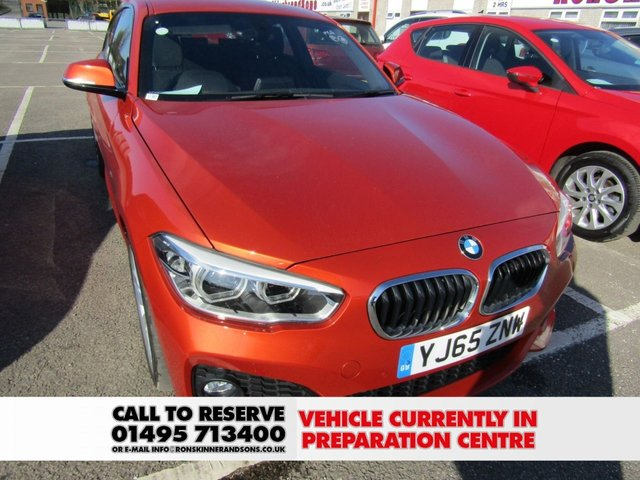 View our 2015 65 BMW 1 SERIES 2.0 120D M SPORT 3d 188 BHP