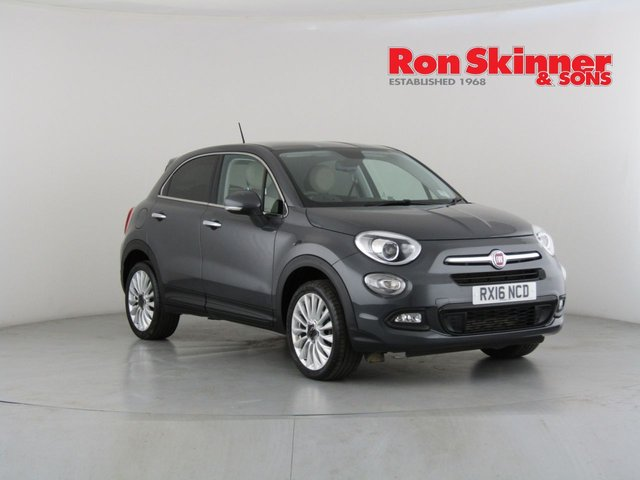 View our 2016 16 FIAT 500X 1.4 MULTIAIR LOUNGE 5d 140 BHP