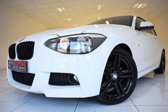 2014 BMW 1 SERIES 116D 2.0 M SPORT 3 DOOR £11250.00