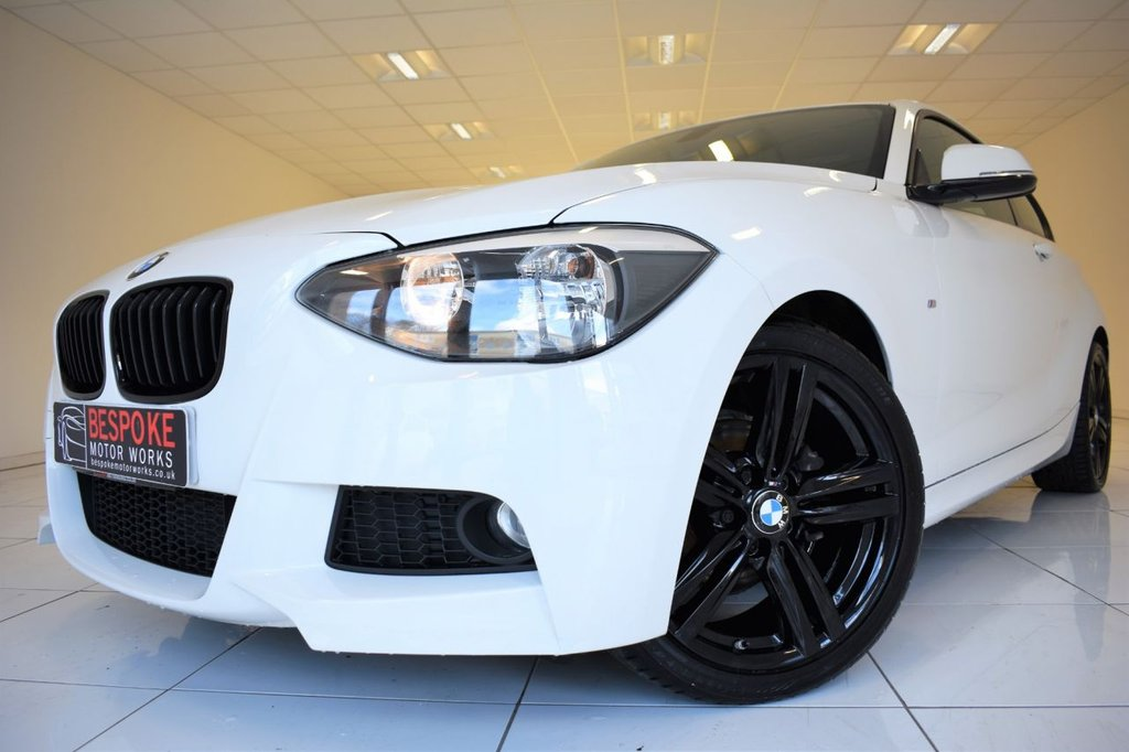 USED 2014 14 BMW 1 SERIES 116D 2.0 M SPORT 3 DOOR