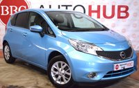 2015 NISSAN NOTE 1.2 ACENTA 5 Door Hatchback 80 BHP £5750.00