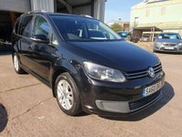 USED 2010 60 VOLKSWAGEN TOURAN 1.6 S TDI BLUEMOTION TECHNOLOGY 5d 103 BHP **SUPERB CONDITION**SUPERB DRIVE**7 SEATER**