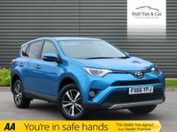USED 2016 66 TOYOTA RAV4 2.0 D-4D BUSINESS EDITION 5d 143 BHP ONE OWNER, FSH, SAT NAV, DAB