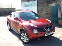USED 2011 11 NISSAN JUKE 1.6 ACENTA SPORT 5d 117 BHP Full Service History With 7 Service Stamps
