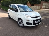 2015 FIAT PANDA 1.2 POP 5d 69 BHP PLEASE CALL TO VIEW £4450.00