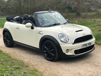 USED 2011 61 MINI CONVERTIBLE 1.6 COOPER S 2d AUTO 184 BHP Avenue, Low Mileage, Automatic