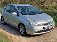 2008 TOYOTA PRIUS 1.5 T SPIRIT VVT-I 5d AUTO 77 BHP £5790.00