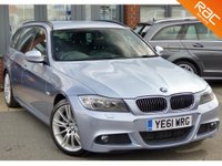 USED 2011 61 BMW 3 SERIES 3.0 330D M SPORT TOURING 5d AUTO 242 BHP