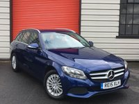 USED 2015 15 MERCEDES-BENZ C-CLASS 2.1 C220 BLUETEC SE EXECUTIVE 5d AUTO 170 BHP