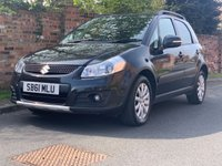 USED 2012 61 SUZUKI SX4 1.6 X-EC 5d 118 BHP EXCELLENT SERVICE HISTORY, 1YR MOT,NAV, ALLOYS, AIR CON, BLUETOOTH, FOGS, RADIO CD, E/WINDOWS, R/LOCKING, FREE WARRANTY, FINANCE AVAILABLE, HPI CLEAR, PART EXCHANGE WELCOME,