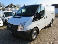2012 FORD TRANSIT 2.2 TDCI SWB LOW ROOF 330 AWD 4X4 125 BHP AIR CON 1 OWNER FULL SERVICE HISTORY 63,749 MILES £10995.00