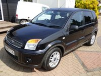 USED 2007 07 FORD FUSION 1.4 ZETEC CLIMATE 5d 78 BHP
