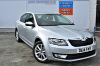 USED 2014 14 SKODA OCTAVIA 1.6 ELEGANCE TDI CR 5d Family Hatchback with Sat Nav Bluetooth Mobile Handsfree Cruise Control and Full Service History PERFECT FAMILY HATCHBACK