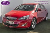 2012 VAUXHALL ASTRA 1.4 SRI 5d 98 BHP £4495.00