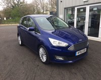 USED 2016 16 FORD C-MAX 1.0 TITANIUM NAVIGATOR ECOBOOST 100 BHP THIS VEHICLE IS AT SITE 1  - TO VIEW CALL US ON 01903 892224