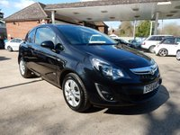 USED 2014 64 VAUXHALL CORSA 1.2 SPORTIVE CDTI 1d 94 BHP AIR CON,TWO KEYS,ELECTRIC WINDOWS,ELECTRIC MIRRORS,NO VAT