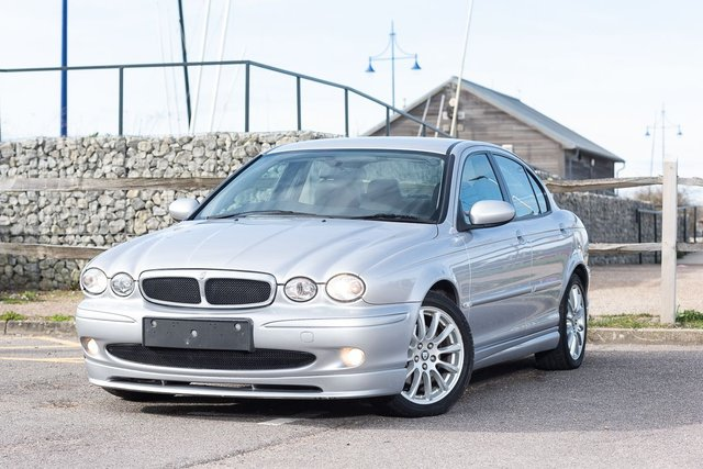 2005 05 JAGUAR X-TYPE Stratstone Limited Edition 2.1 S V6 4d 157 BHP